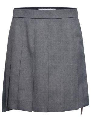 Thom Browne Mini Skirt grey