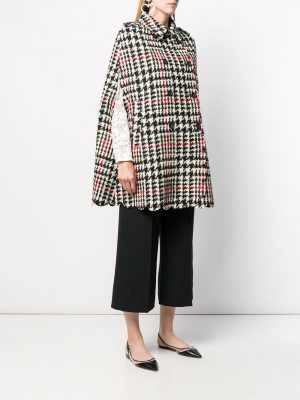 Red Valentino Cappe Black/White Houndstooth