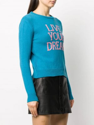 Sweater Live Your Dream Blue
