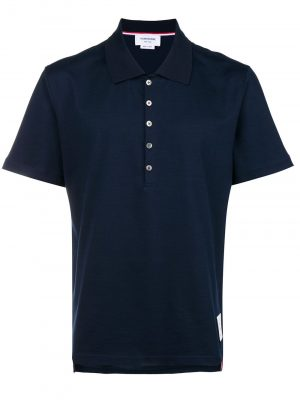 Thom Browne 21SS MJP052A-00042 415 Polo shirt Navy