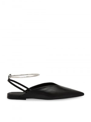 Jil Sander 999 Ballerina Ankle Slipper Black