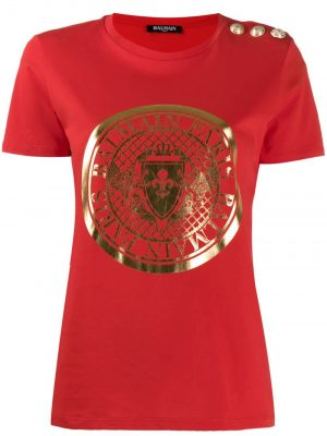 T-shirt Red/Gold