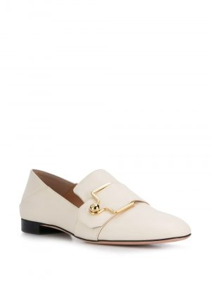 Bally MAELLE Ladies Loafer Bone
