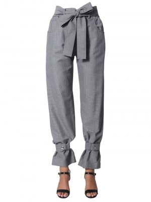 MSGM 19FW 2741MDP18 195617 Pants Grey