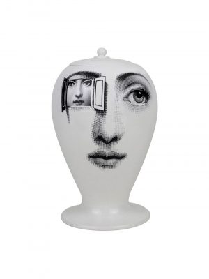 Fornasetti For-10543 Vase Black/White