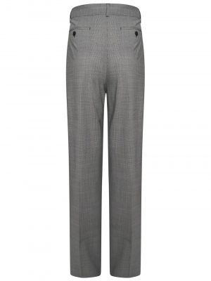 Sportmax BERBICE Checked Trousers Grey