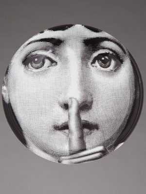 Fornasetti Round ashtray P23X326