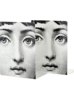 Fornasetti Donna bookends