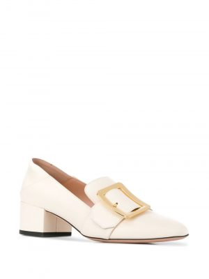 JANELLE Ladies Loafer 4cm Bone
