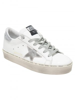 Golden Goose B8 Trainer White/Silver