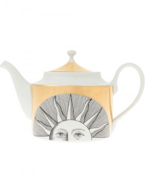 Fornasetti tea pot