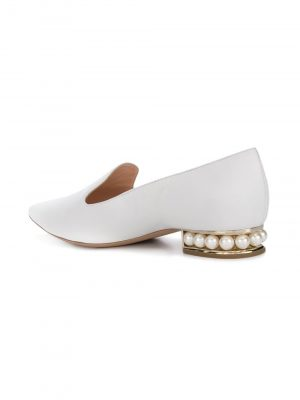 Nicholas Kirkwood- W02 Pearl Loafer White