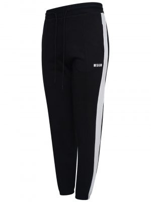 MSGM  Pants Black/white
