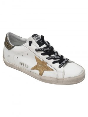 Golden Goose Trainer White/Gold