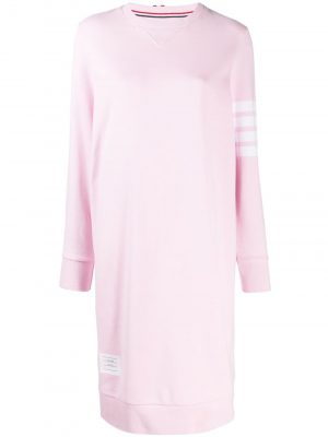 Thom Browne SS20 FJD056A00535 Sweatshirt Dress 4Bar LT Pink