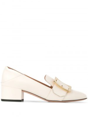 Bally JANELLE Ladies Loafer 4cm Bone