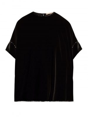 Christopher Kane Velvet Top