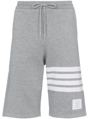 Thom Browne- Shorts Sweat Light Grey