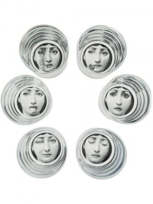 Fornasetti Set 6 glasses G40X400
