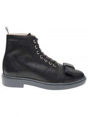 Thom Browne 001 High-top Trainer Black