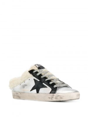 Golden Goose A5 Sneakers Sliver/Black