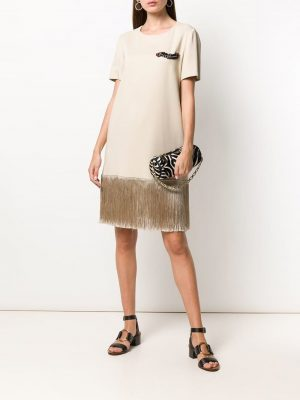 ALBERTA FERRETTI Dress Beige