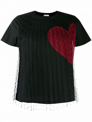 Red Valentino 4F8 T shirt Black