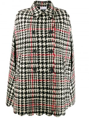 Red Valentino 19FW SR3CGA15 499  Cappe Black/White Houndstooth
