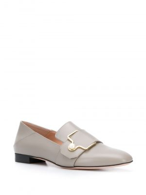 Bally MAELLE Ladies Loafer Grey