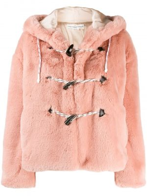 Golden Goose Fur Jacket Pink