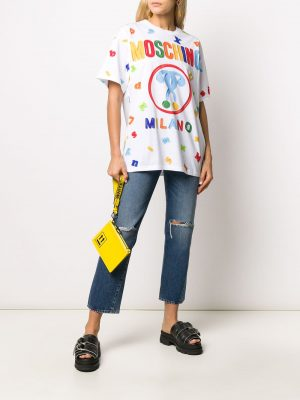 Moschino Logo T-shirt White
