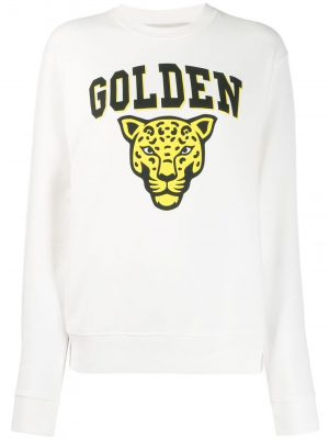 Sweatshirt Golden Jaguar/ White