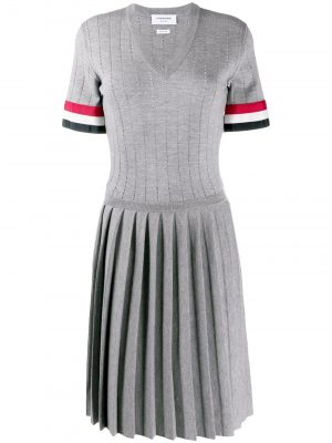Thom Browne Knit Dress Light Grey
