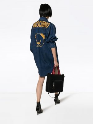 Moschino  Denin Dress Blue