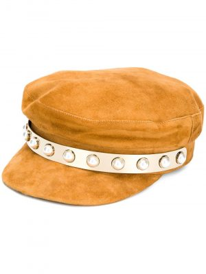 Coliac leather hat JERAN