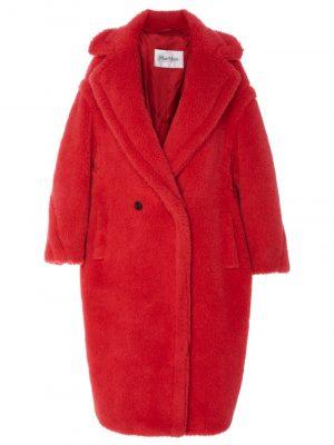 MaxMara 009 TEDGIRL Coat Red