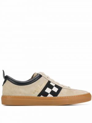 Bally VITA Men's suede Trainer Brown