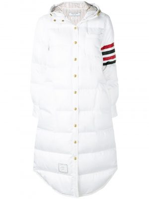 Thom Browne 100  Woman Down Filled Coat White