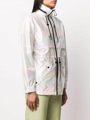 Kenzo Windbreaker White Shimmer