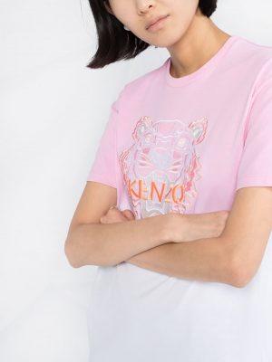 Dip Dyed T-shirt Pink