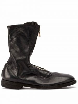 Guidi 310 Front Zip Boots Black