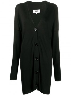 MM6 Long Cardigan Black
