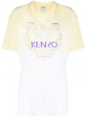 Dip Dyed T-shirt Yellow