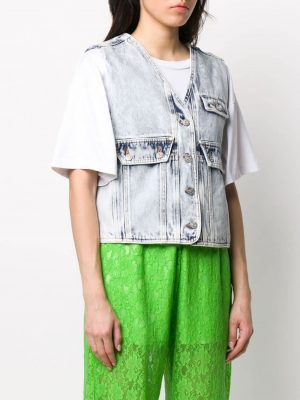 Denim Bag Vest