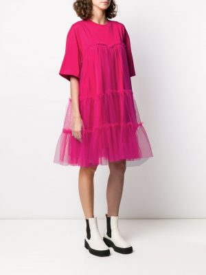 Lace Dress Hot Pink