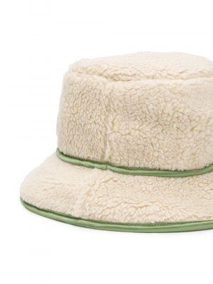 Hat Cream/Green