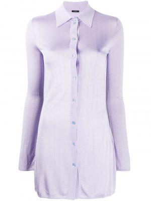 Knitted Shirt Purple