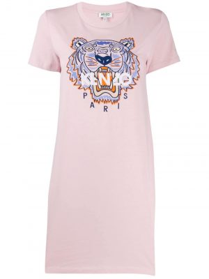 Kenzo Tiger Dress 34 Pink