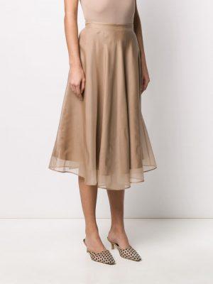 MSGM Skirt Beige