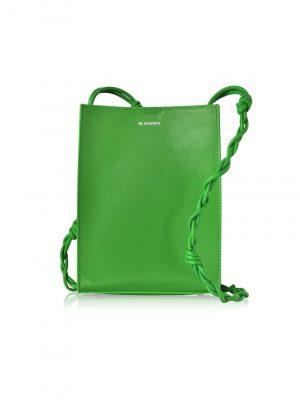 Jil Sander SS20 JSWP850173 WOB69091N Tangle Bag Bright  Green
